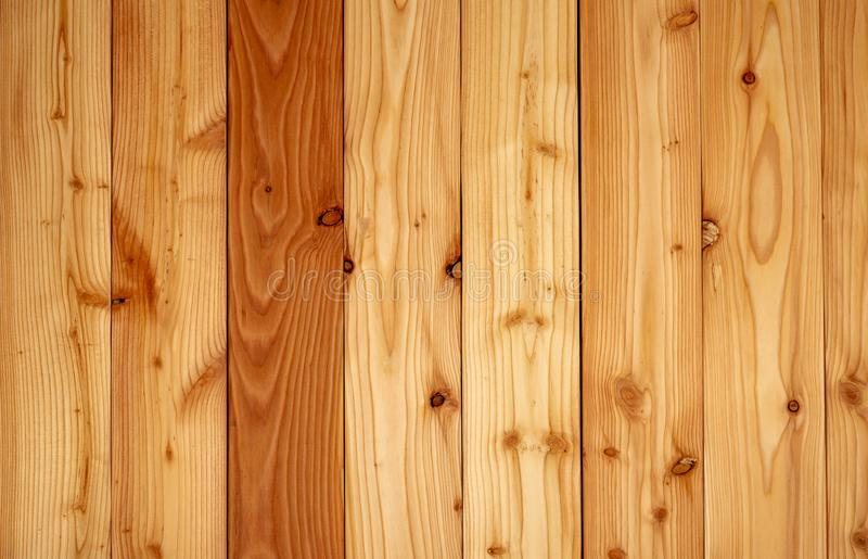 Yellow wood texture background. Wood texture with unique pattern.Empty brown wooden wall. Wooden board. Orange wood timber. royalty free stock photo