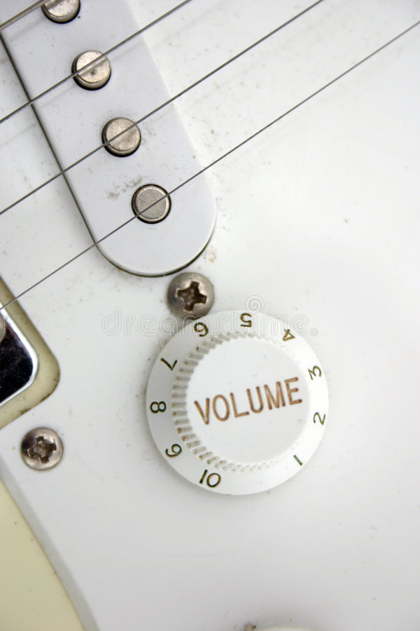 closeupelkraftgitarr arkivfoton