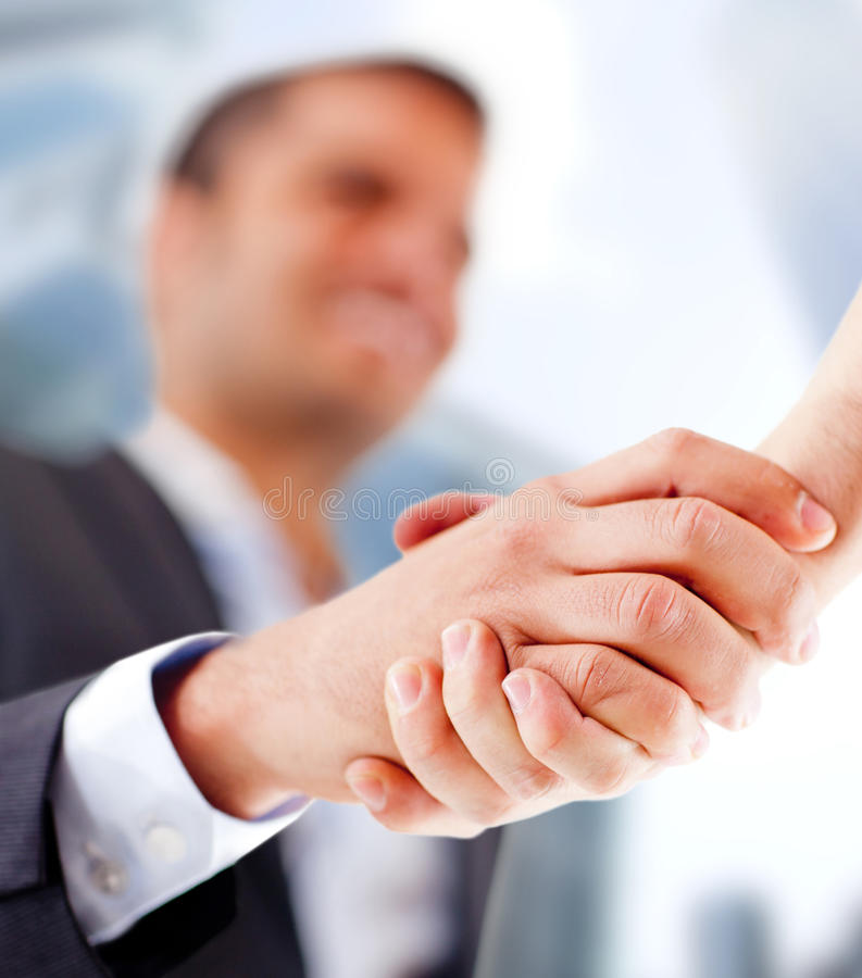 Download Closing a deal stock photo. Image of business, hired - 24772352