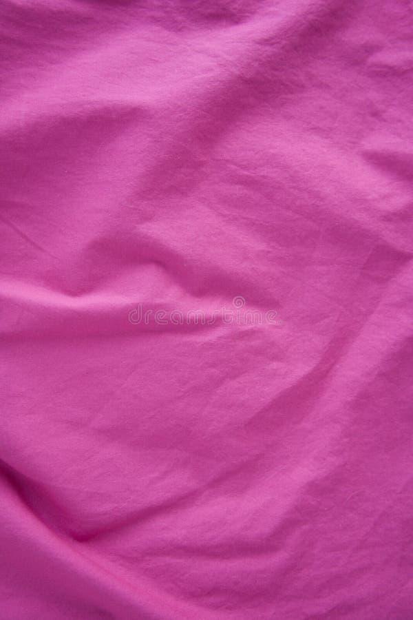 Cloth_1 cor-de-rosa imagem de stock