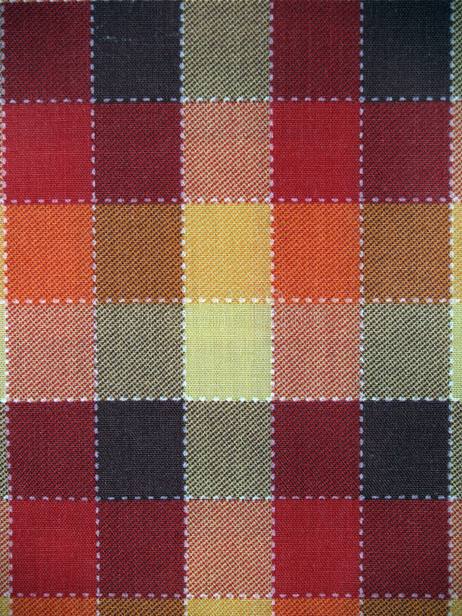Cloth. A cloth paintings yellow brown red royalty free stock photography