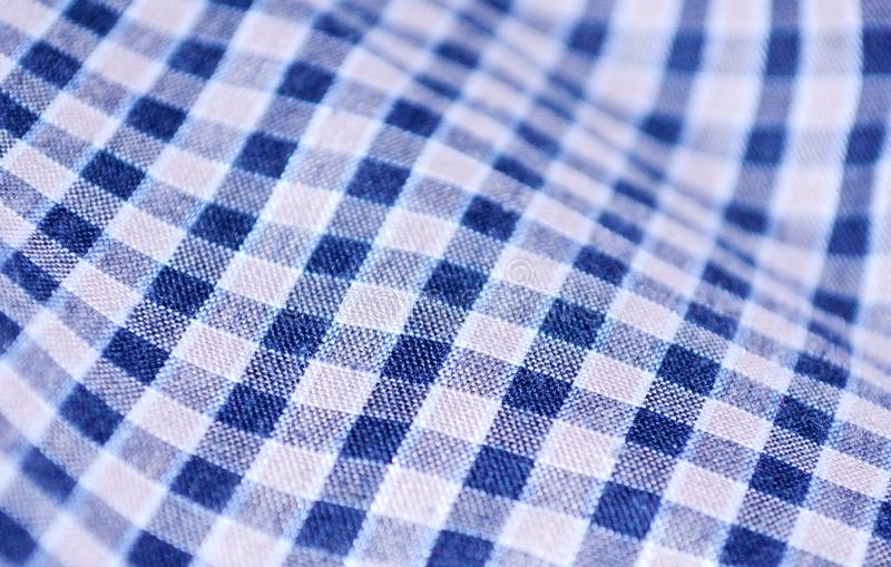 Cloth gingham pattern background. Plaid texture - image. New, scottish, tartan, line, blue, abstract, concept, fabric, repeat, clothing, dress, shirt, skirt royalty free stock photos