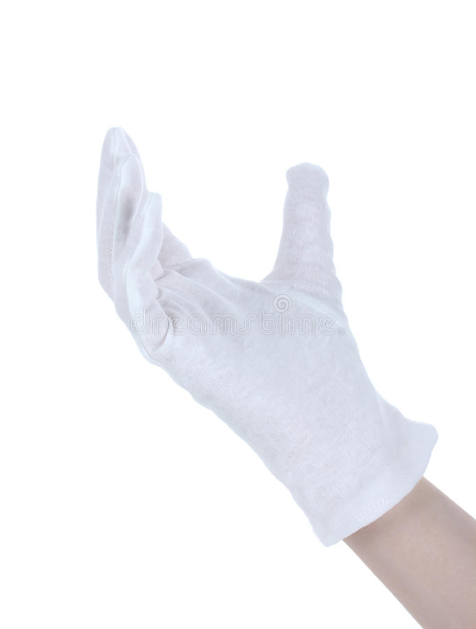 Download Cloth glove on hand stock photo. Image of cotton, gesture - 24648794