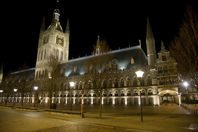 The cloth hall at night ypres belgium stock photo image of download the cloth hall at night ypres belgium stock photo image of freerunsca Image collections