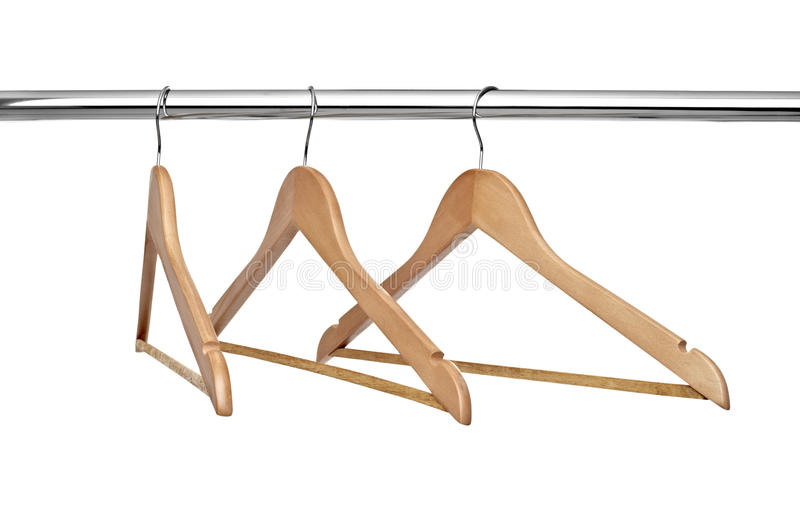 Download Cloth hangers stock image. Image of shop, color, hang - 18299911