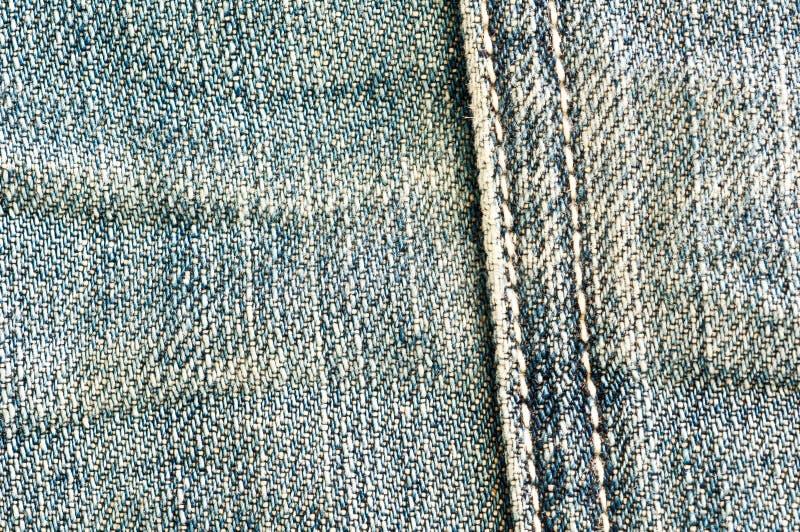 Cloth Jeans Stripes Royalty Free Stock Photo
