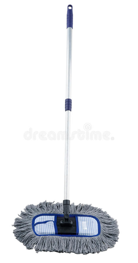 A cloth mop for cleaning floor royalty free stock photo