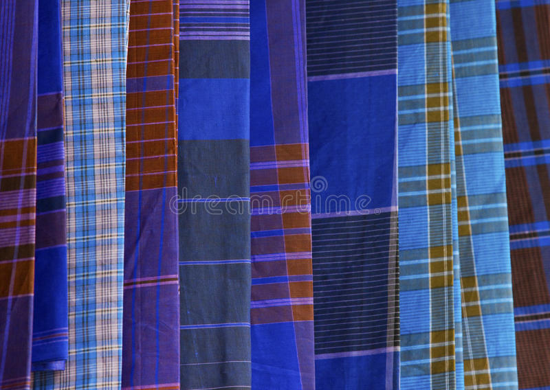 Cloth pattern. Detailed woven ethnic pattern south and southeast Asian royalty free stock photo