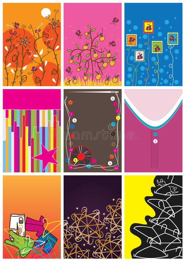 Download Cloth Size And Tags_eps stock vector. Image of endless - 23480302