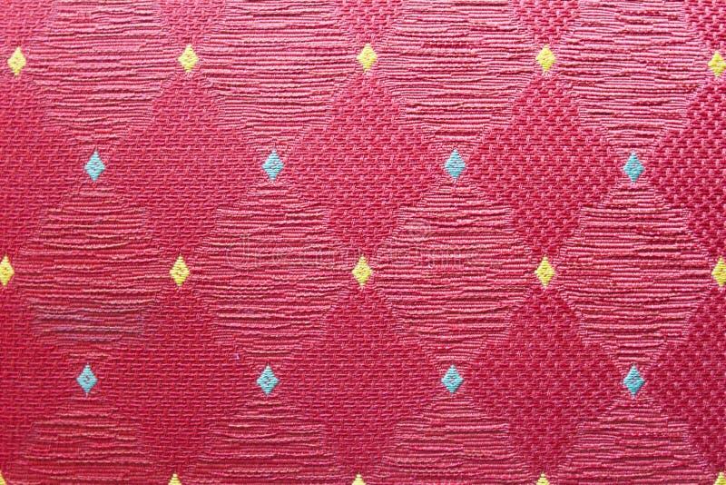 Cloth Textile Detail Sample Cotton. Surface Fashion Patch Macro Texture stock images