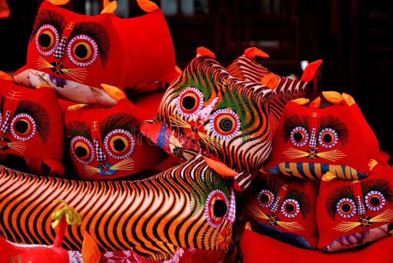 Cloth Tiger royalty free stock image