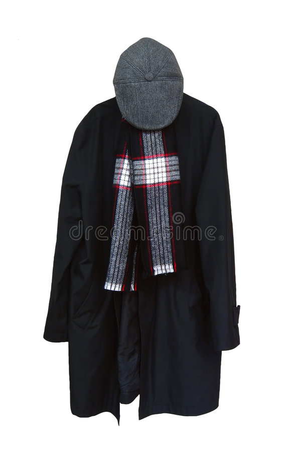 Download Clothes stock photo. Image of scarf, clothes, isolated - 7664970