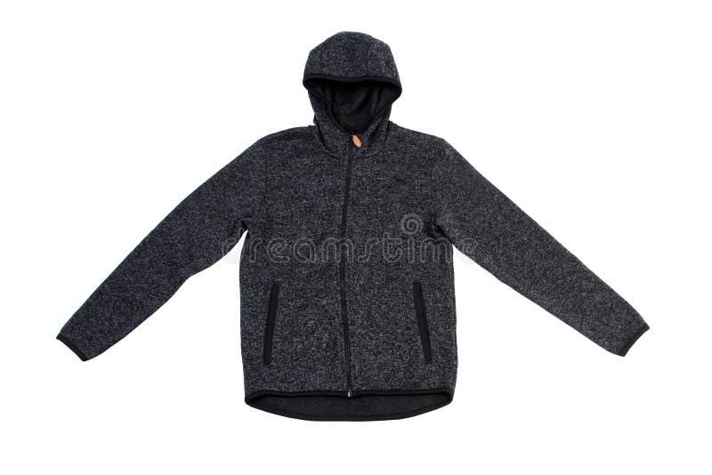 Clothes for children, sweatshirt, sweater, jacket. Sweatshirt for boy, jacket isolated on white. clothes for children, sweatshirt, sweater, jacket stock image