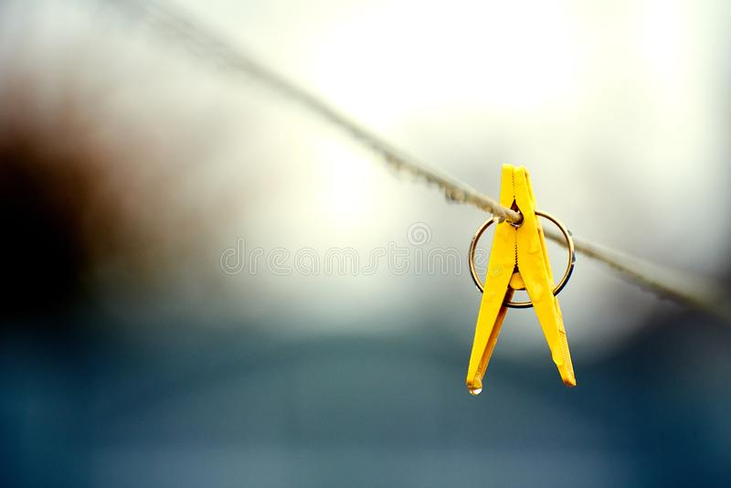 Clothes clip royalty free stock photography