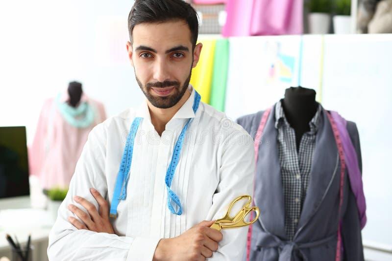 Clothes Creating Modern Studio Trendy Designer Job stock photos