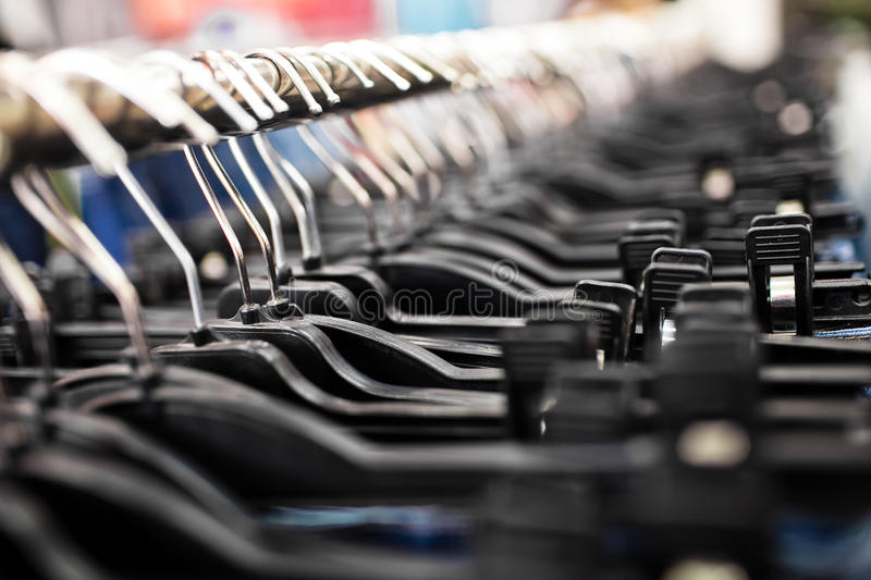 Download Clothes hanger stock image. Image of shot, fabric, detail - 25161149