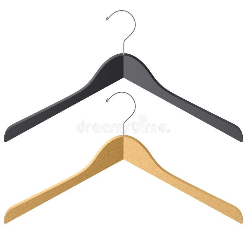 Clothes hanger vector illustration