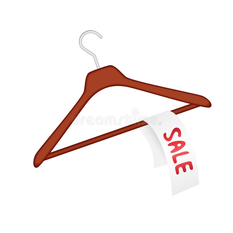 Clothes Hanger With Sale Stock Photos