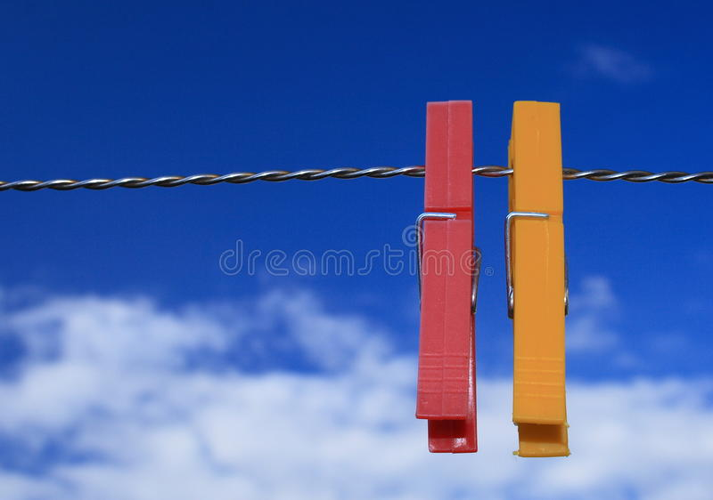 Download Clothes Peg Royalty Free Stock Image - Image: 11694586