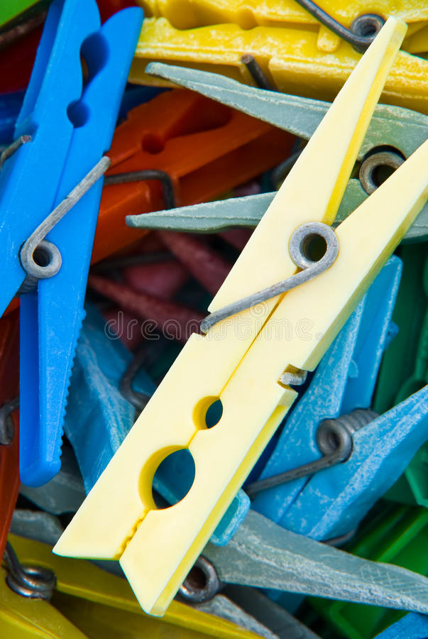 Download Clothes pegs stock image. Image of blue, nobody, pattern - 16006181