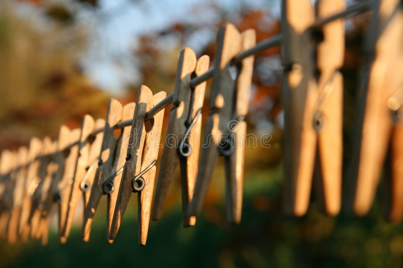 Download Clothes pegs stock image. Image of fastening, dirty, clothespins - 6790639