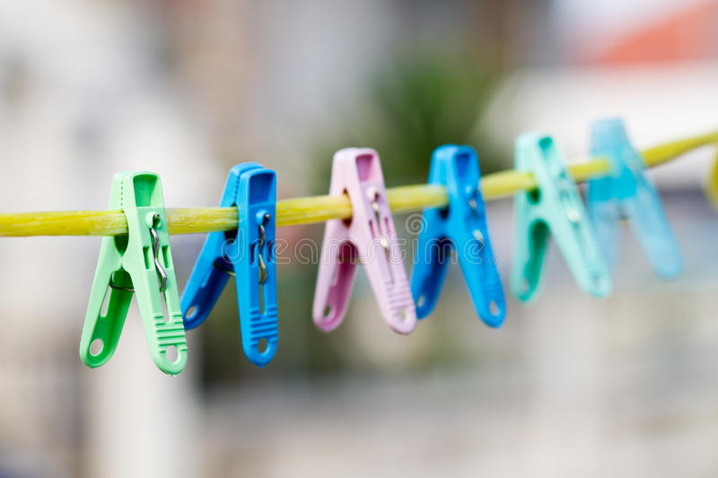 Download Clothes pin clip stock image. Image of clothespeg, color - 21828147