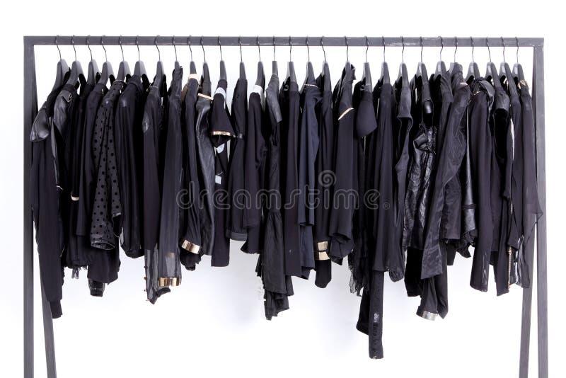 Clothes On Shelf Stock Photo