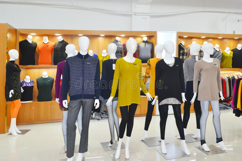 clothes sweaters stock images