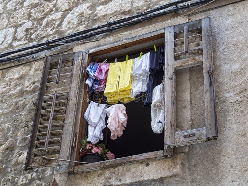 clotheshorse photographie stock