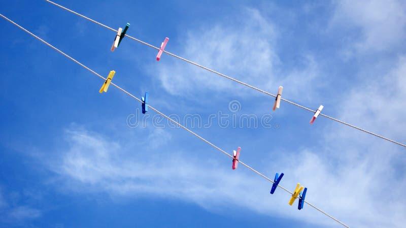 clothesline obrazy stock