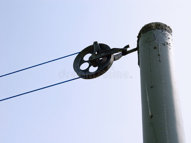 Download Clothesline Pulley Royalty Free Stock Photos - Image: 17978