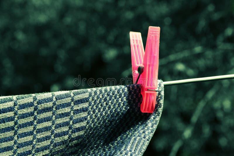 clothespin photos libres de droits
