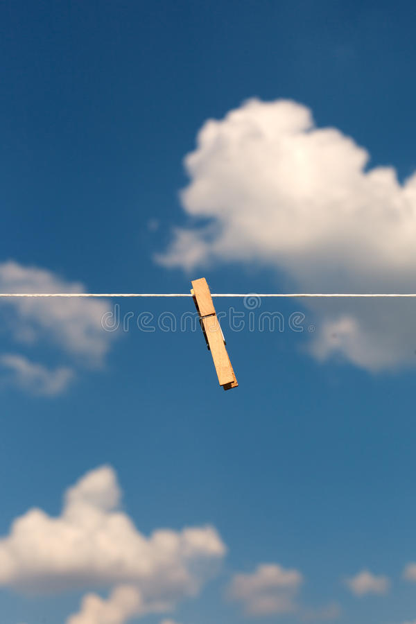 Clothespin. Royalty Free Stock Photography