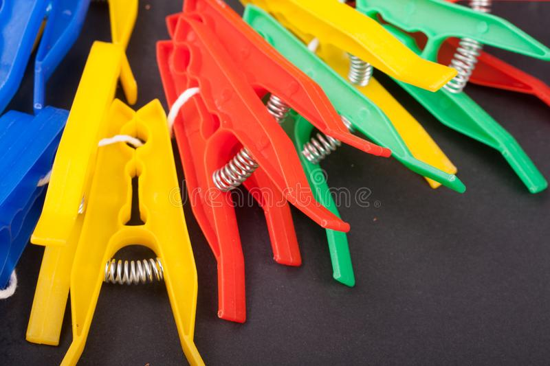clothespins stock foto's