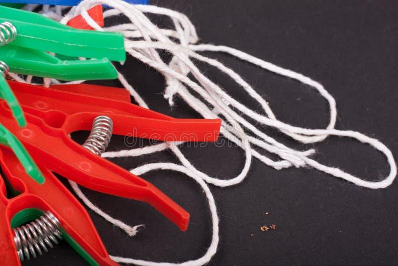 clothespins stock afbeeldingen