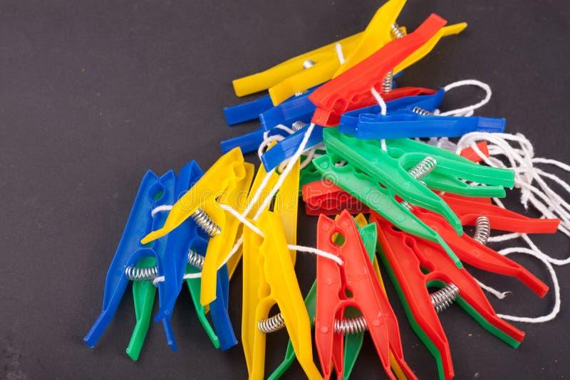 clothespins royalty-vrije stock fotografie