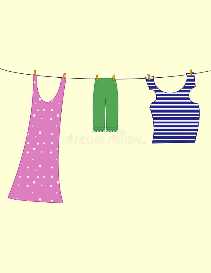 clothespins бесплатная иллюстрация