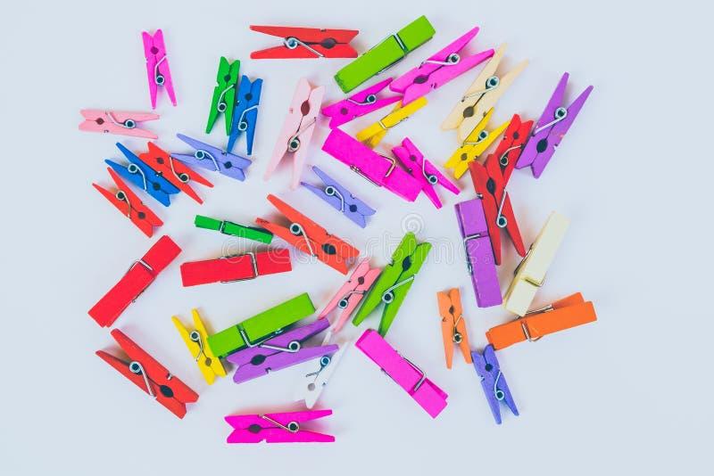 clothespins stock foto