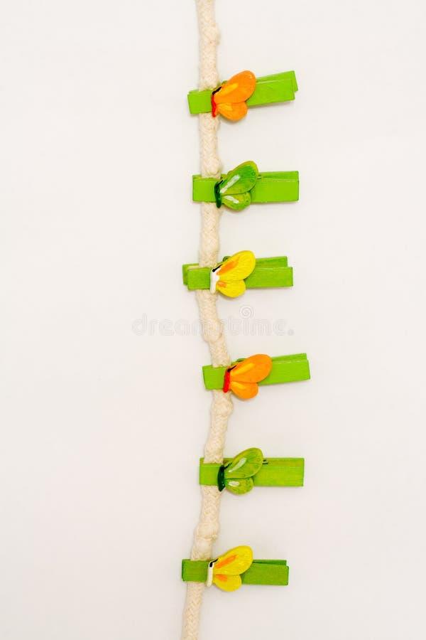 clothespins стоковые изображения