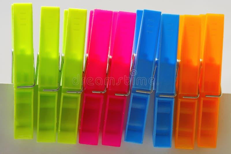 clothespins стоковое изображение rf
