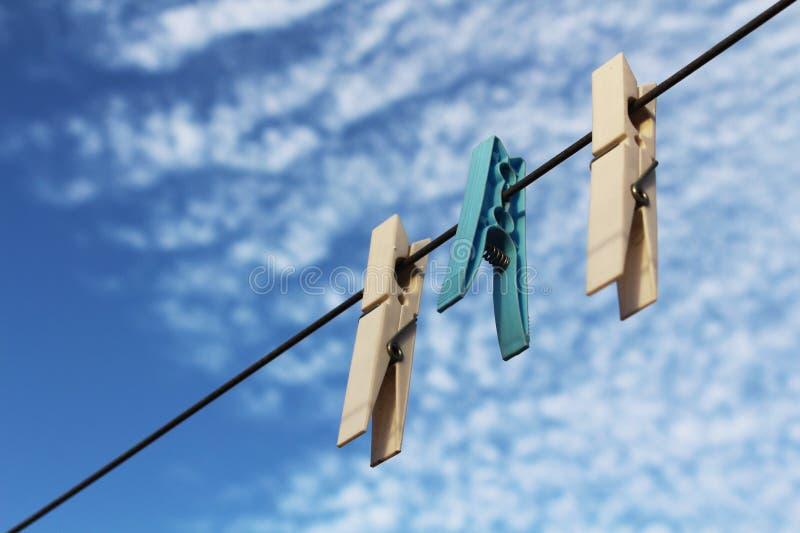Clothespins imagen de archivo