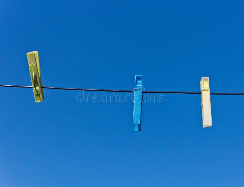 clothespins 3 стоковые фото