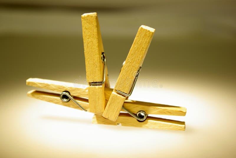 clothespins 4 стоковая фотография rf