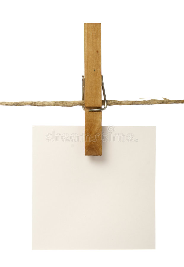 clothespins notepads fotografia royalty free