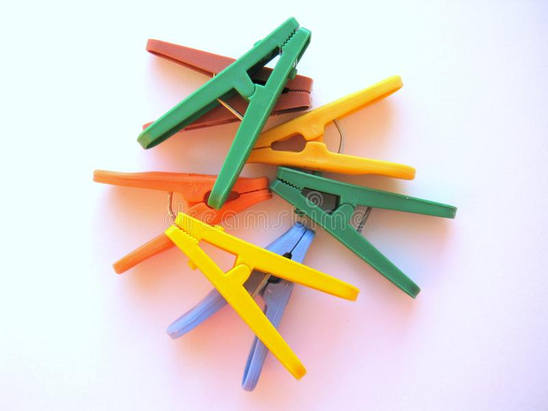 clothespins photos stock