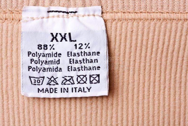 Clothing Label Royalty Free Stock Photo