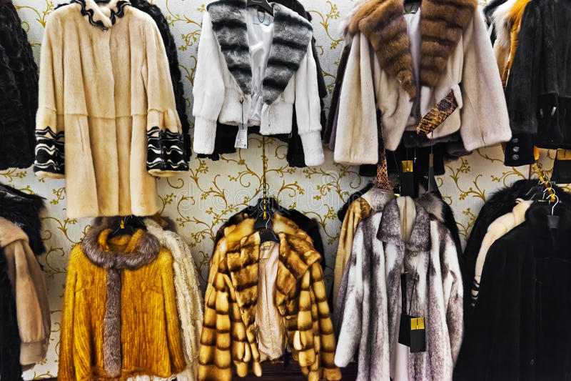 Clothing Shop Royalty Free Stock Photos