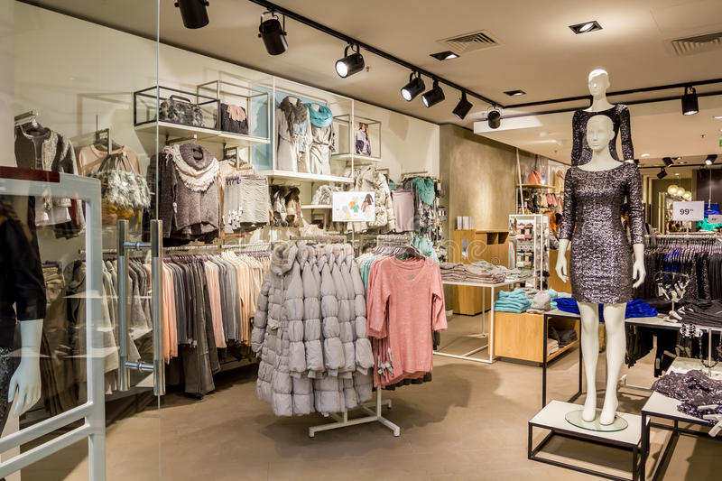 Download Clothing shop editorial image. Image of economics, carry - 28324950