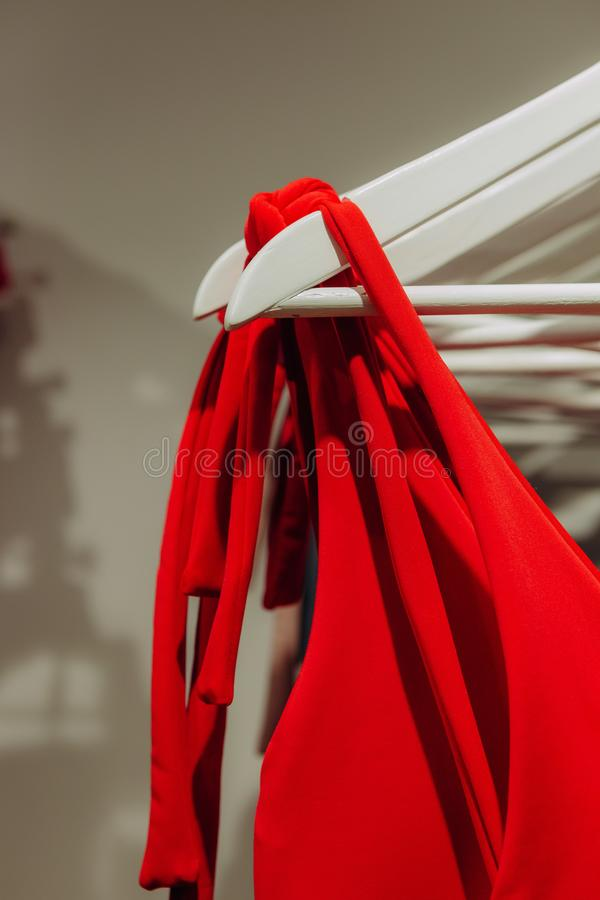 Clothing store boutique fashion shopping sale collection. Clothing store boutique fashion stuff shopping sale collection royalty free stock image