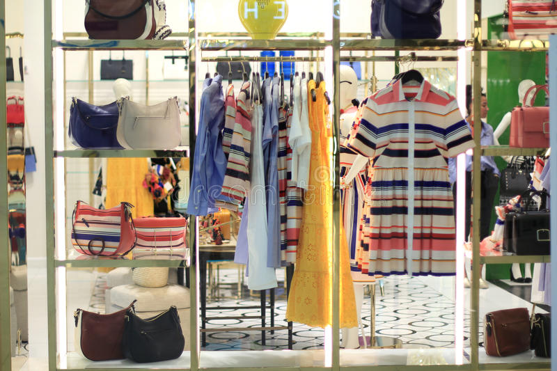 Clothing Store Display royalty free stock images